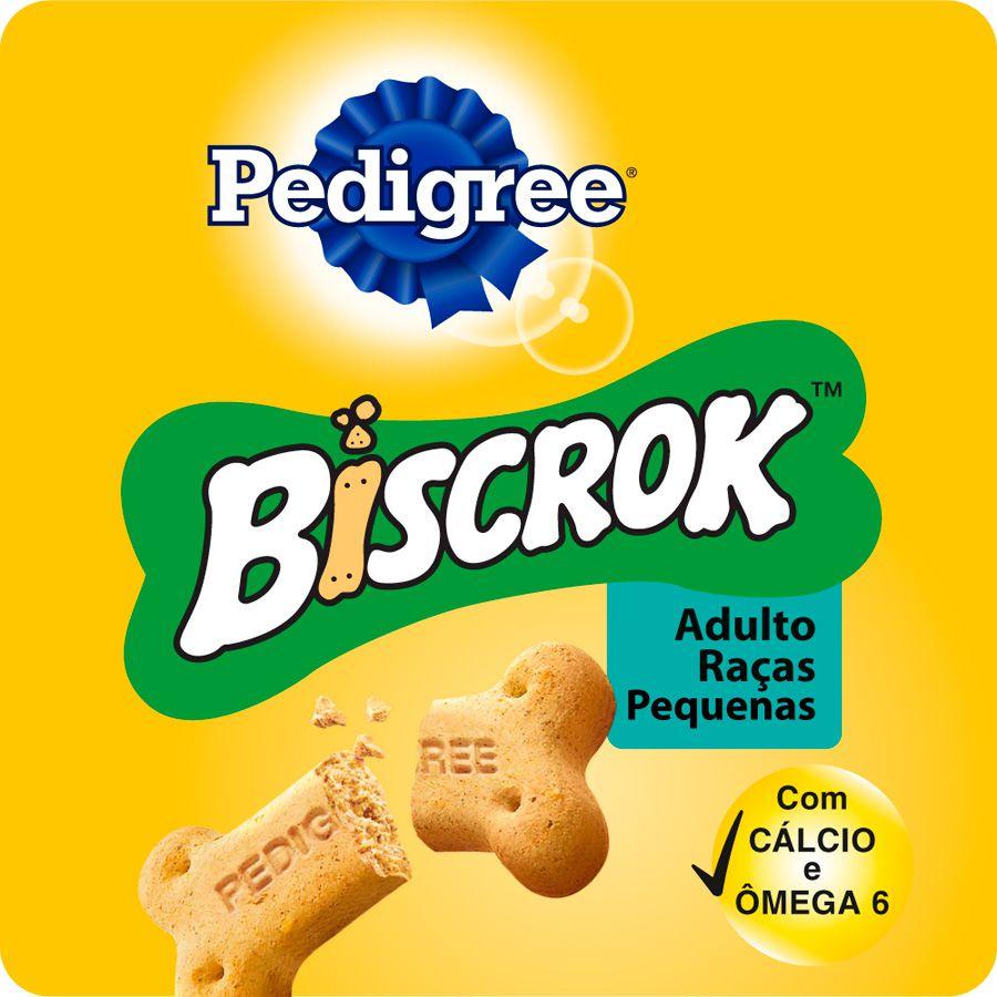 Biscrok Pedigree Mini Biscoito Cães Raças Pequenas 1 kg