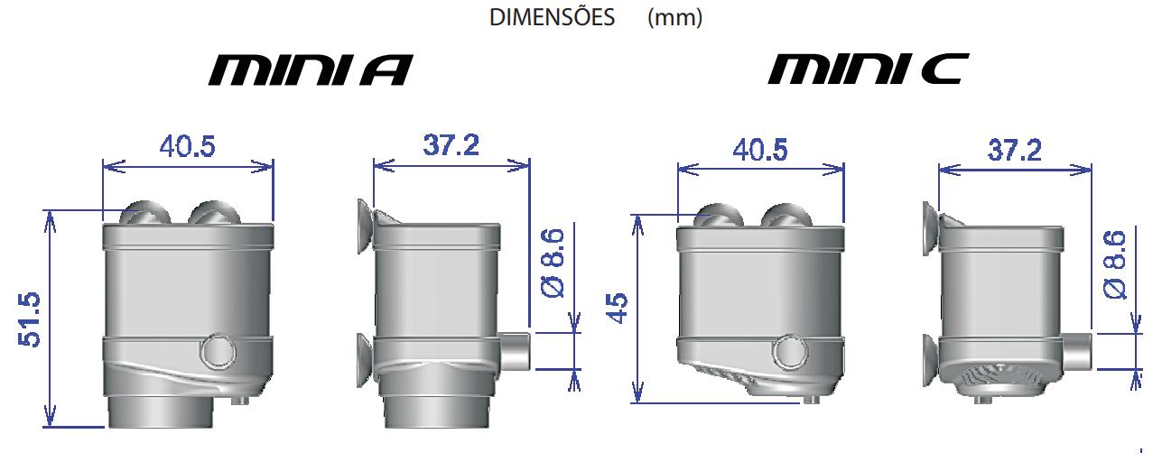 Bomba Submersa Sarlo Better Mini C (12v Fonte Bivolt)