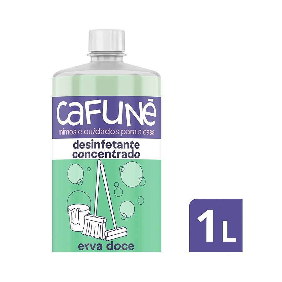 CAFUNE DESINFETANTE CONCENTRADO ERVA DOCE 1L