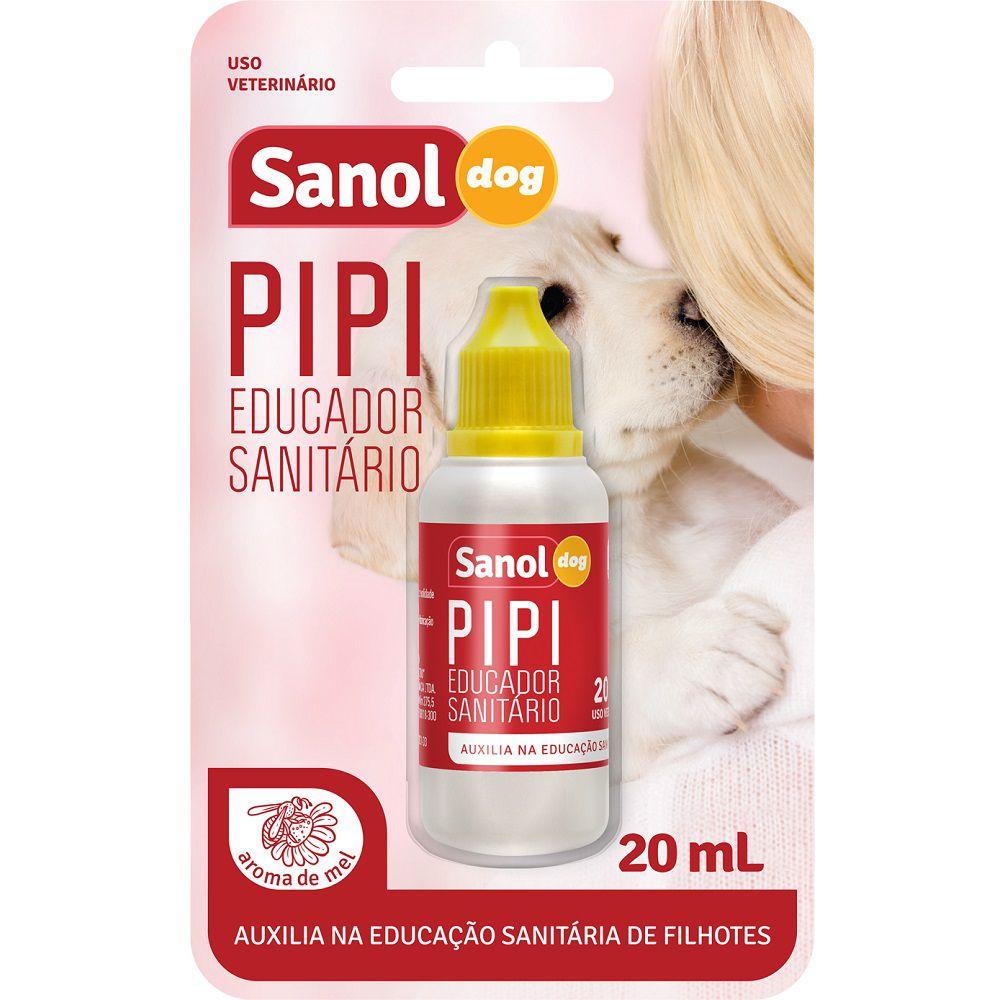 Educador Sanitário Sanol Dog para Cães Filhotes 20 ml