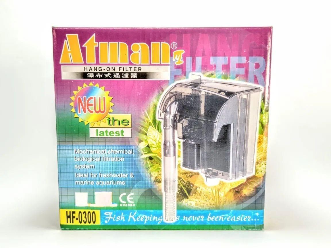 Filtro Externo Atman Hang On HF-0300 - Vazão 300 l/h 110 v