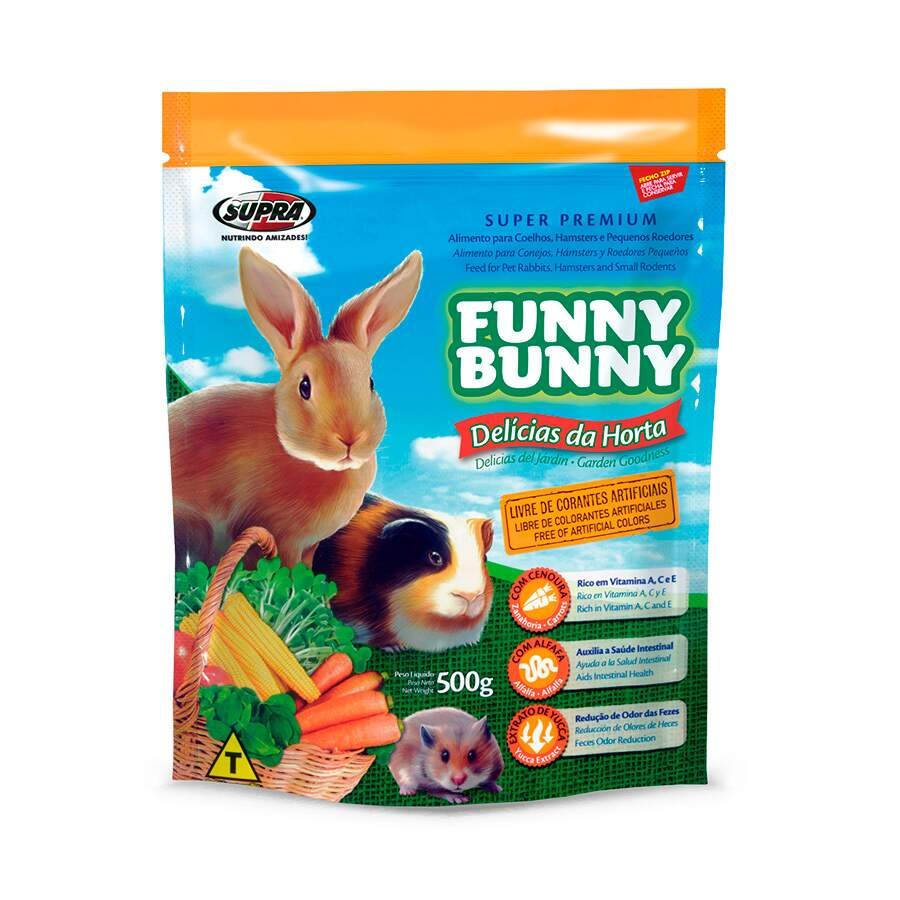 FUNNY BUNNY P ROEDORES 500G