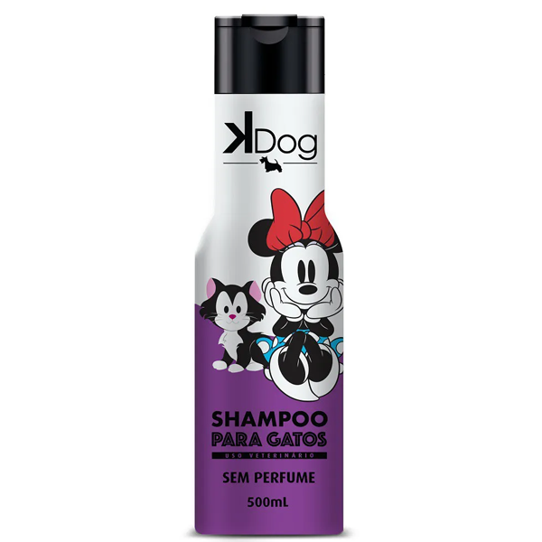 KDOG DISNEY SHAMPOO GATOS 500ML