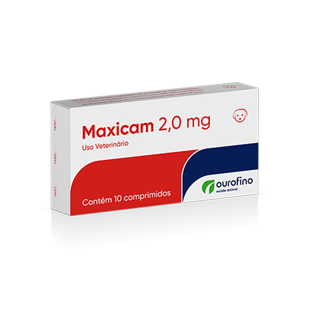 Maxicam Plus 2,0mg Blister 10 Comprimidos