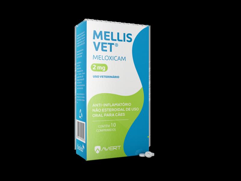 MELLIS VET 2MG 10 COMP
