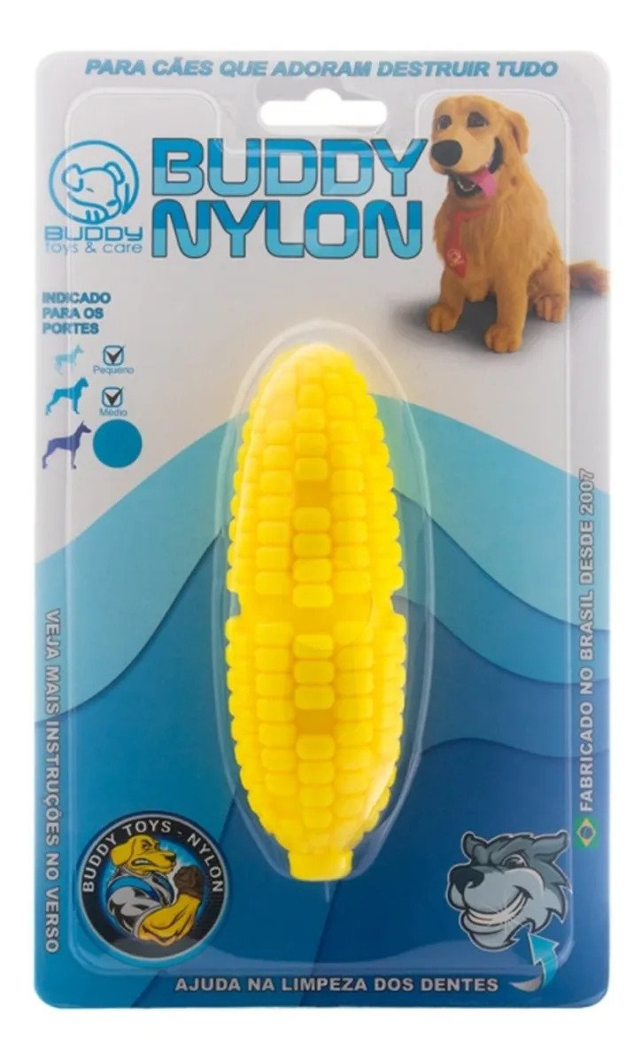 Mordedor Para Cachorro Milho Nylon Buddy Toys
