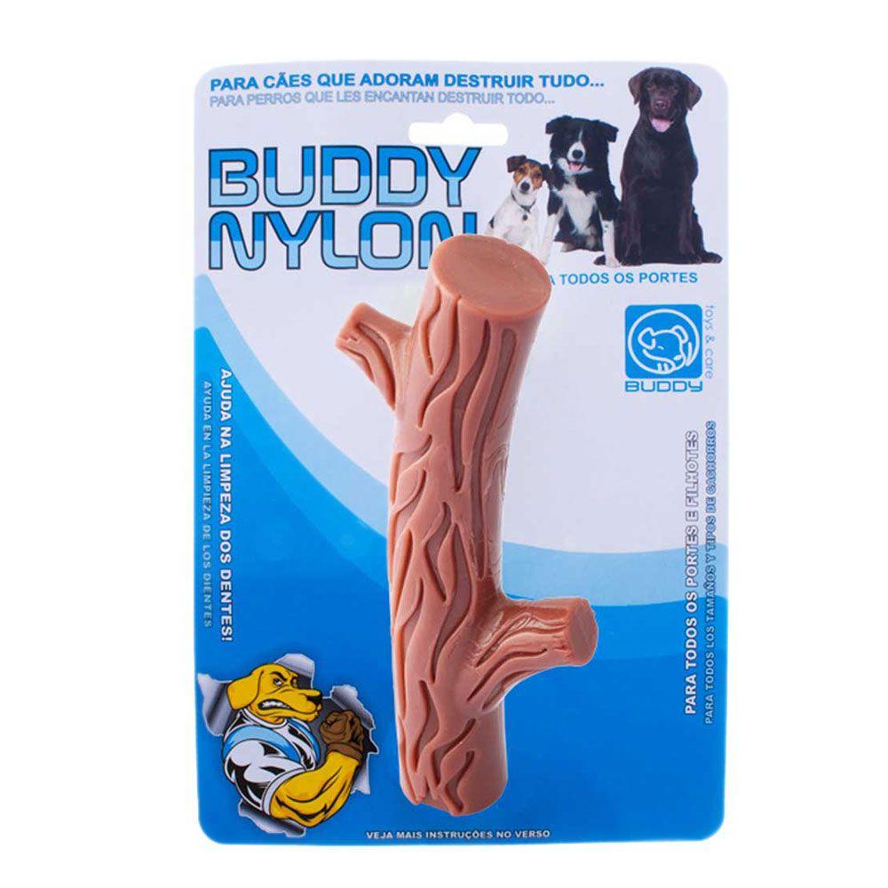 Mordedor Resistente Graveto De Nylon Buddy Toys Para Cães