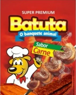 Palitos Sticks Batuta Cachorros Carne 500g