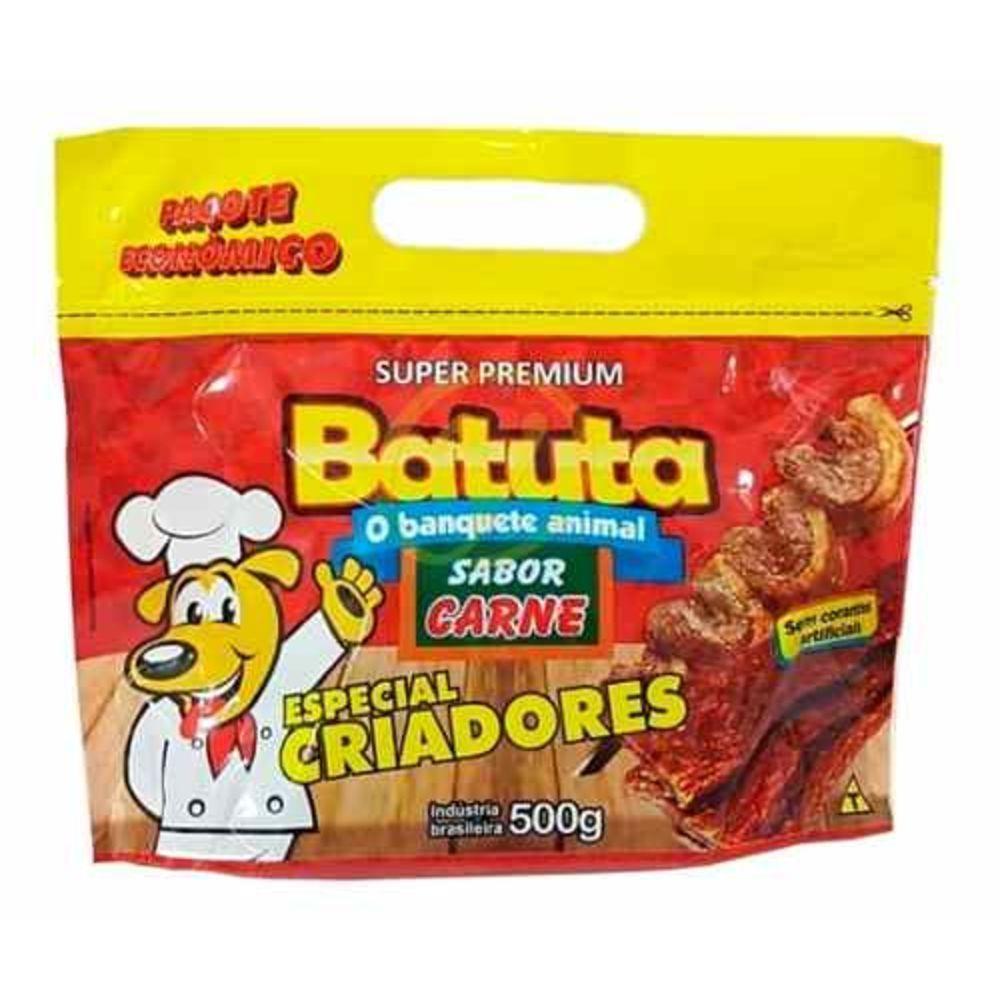 Petisco Bifinho Batuta sabor Carne - 500g Super Premium