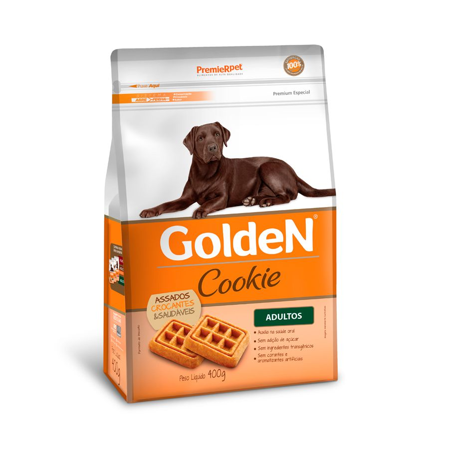 Petisco Golden Cookie para Cães Adultos 400g