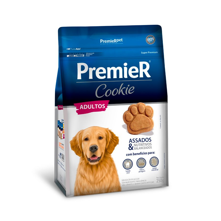 Petisco Premier Cookie Cães Adultos 250 g