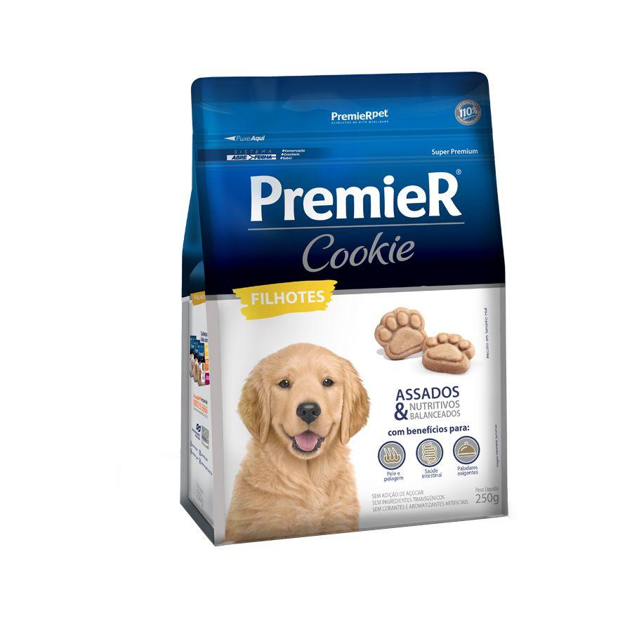 Petisco Premier Cookie Cães Filhotes 250 g