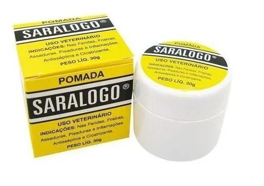 Pomada Cicatrizante Saralogo 30 g