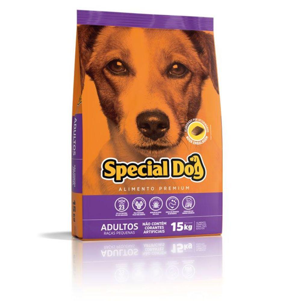 Ração Cães Adultos Special Dog Premium Raças Pequenas 15 kg