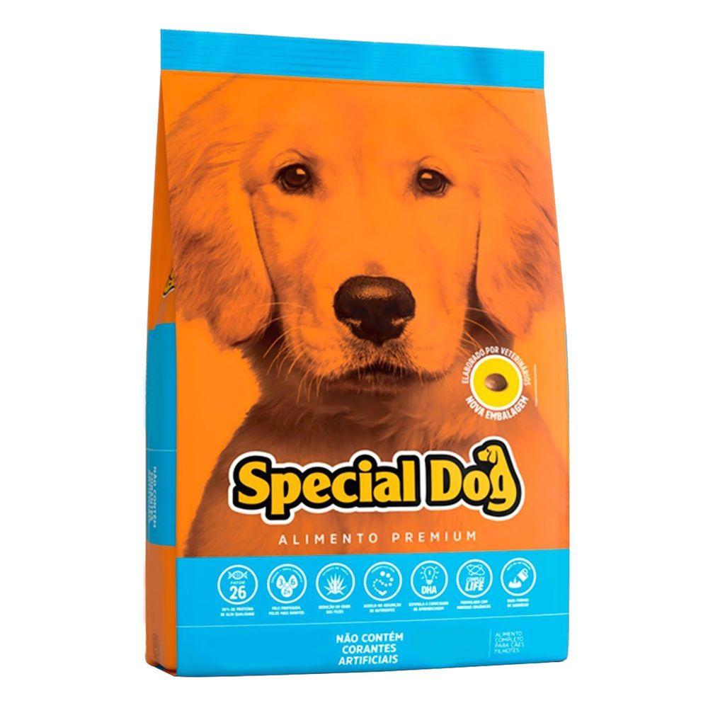 Ração Cães Filhote Special Dog Premium Júnior 15 kg