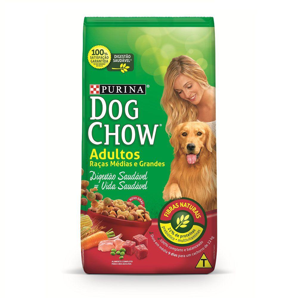 Ração Dog Chow Adultos Raças Médias e Grandes 15kg