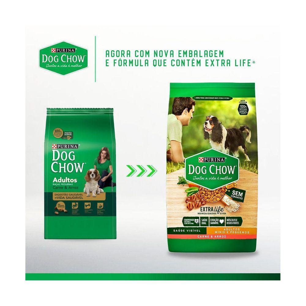 Ração Dog Chow Para Cães De Raças Pequenas Carne E Arroz 15kg