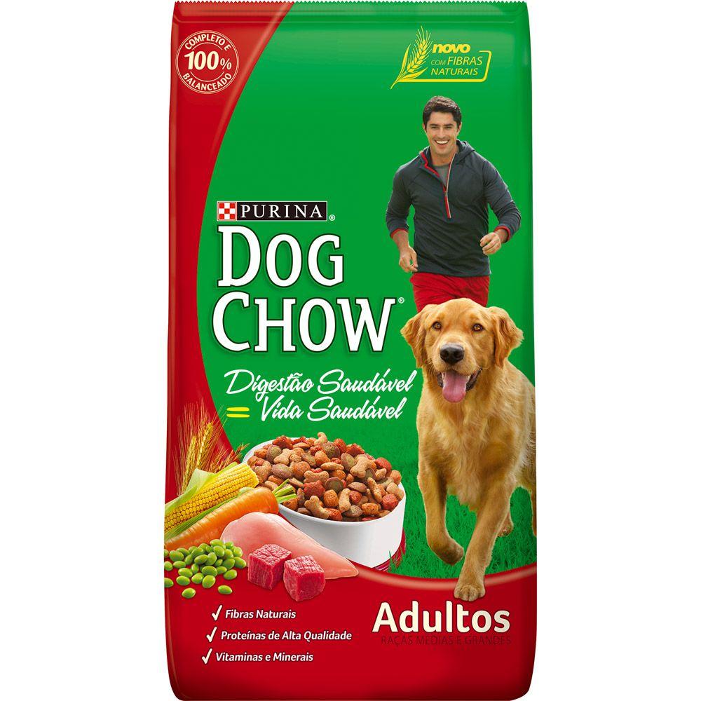Ração Dog Chow Raças Médias e Grandes Adulto 3kg