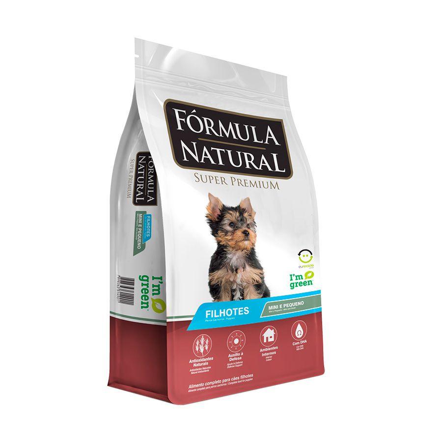 Ração Fórmula Natural Filhotes Porte Mini E Pequeno 1kg