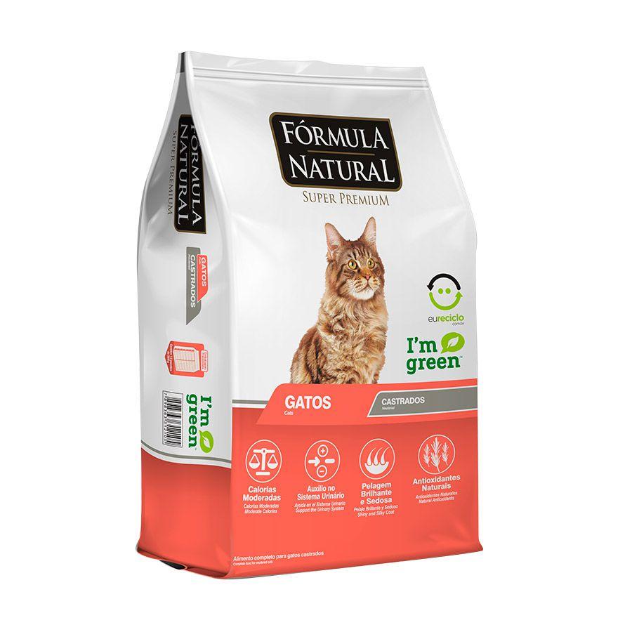 Ração Formula Natural para Gatos Castrados - 1kg