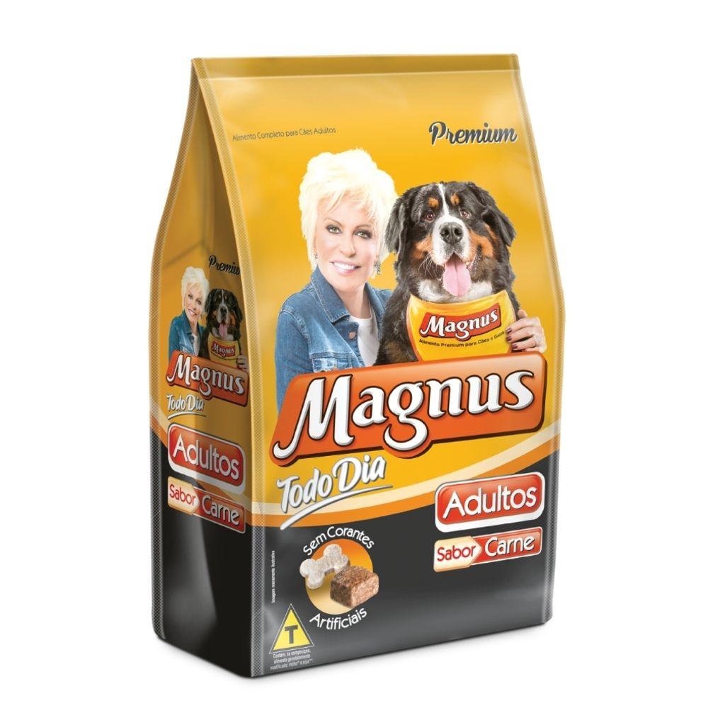 Ração Magnus Todo Dia Sabor Carne para Cães Adultos - 15kg