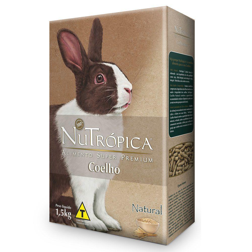 Ração Nutrópica Coelhos Adultos Natural 1,5kg