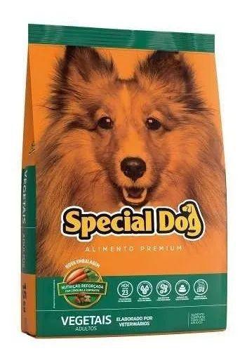 Ração Para Cães Adultos Special Dog Vegetais 15kg