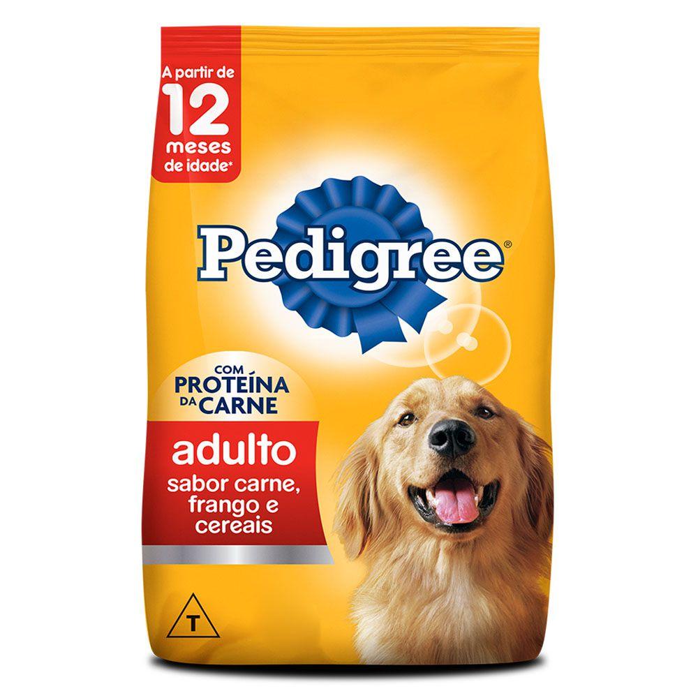 Ração Pedigree Adulto Carne, Frango e Cereais 15kg
