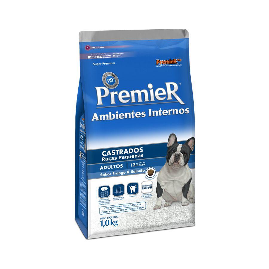 Ração Premier Ambiente Interno Castrados para Cães Adultos 2,5 kg