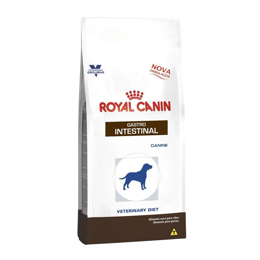 Ração Royal Canin Canine Veterinary Diet Gastro Intestinal Cães Adultos Doença Intestinal 2kg