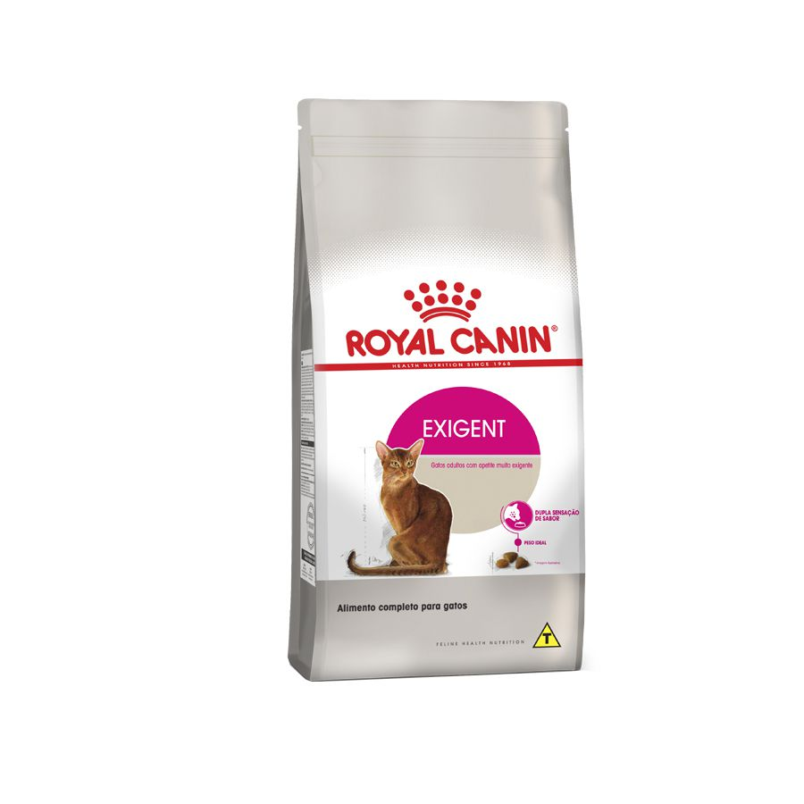 Ração Royal Canin Exigent Gatos Adultos com Paladar Exigente 1,5kg