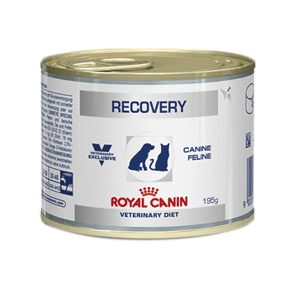 Ração Royal Canin Lata Cães e Gatos Veterinary Diet Recovery 195g