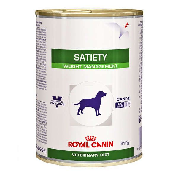 Ração Royal Canin Lata Veterinary Diet Canine Satiety 410g