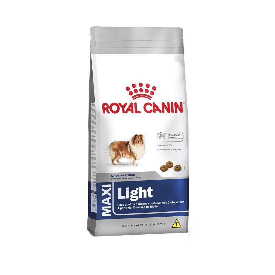 Ração Royal Canin Maxi Light para Cães Adultos ou Idosos Obesos de Raças Grandes 15kg