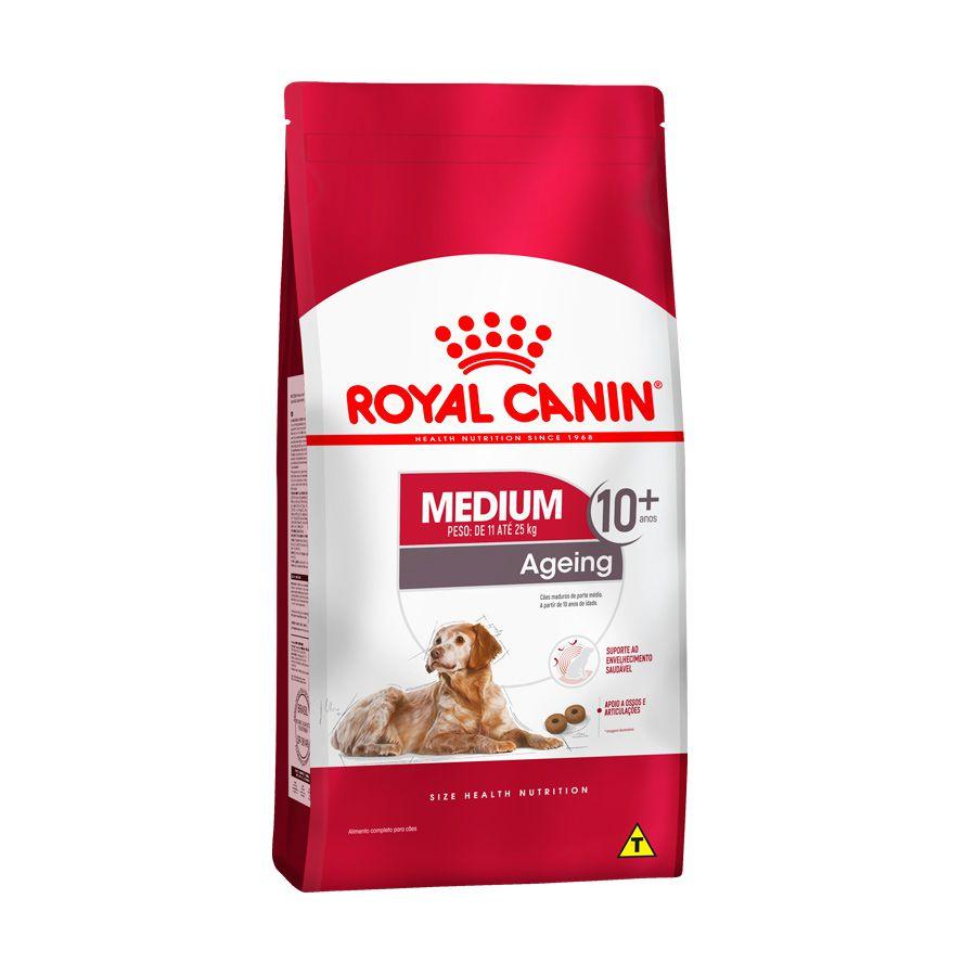Ração Royal Canin Medium 10+ Cães Idosos 15kg