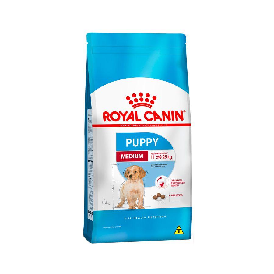 Ração Royal Canin Medium Junior Filhote 15kg