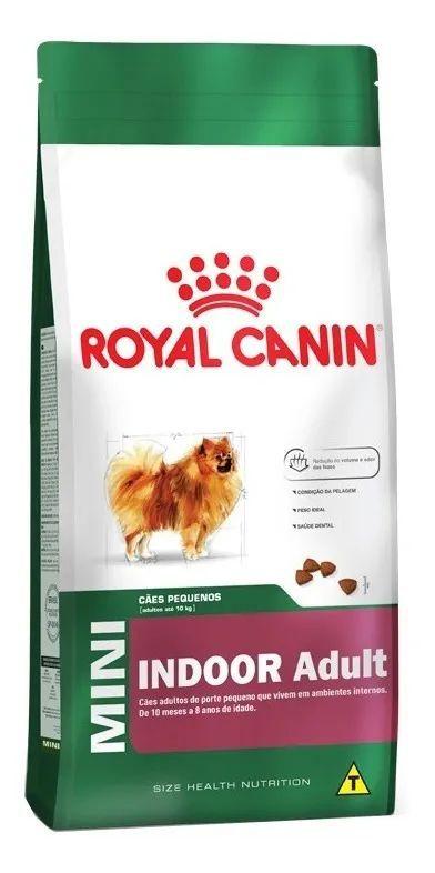 Ração Royal Canin Mini Indoor Adult Raças Pequenas 1kg