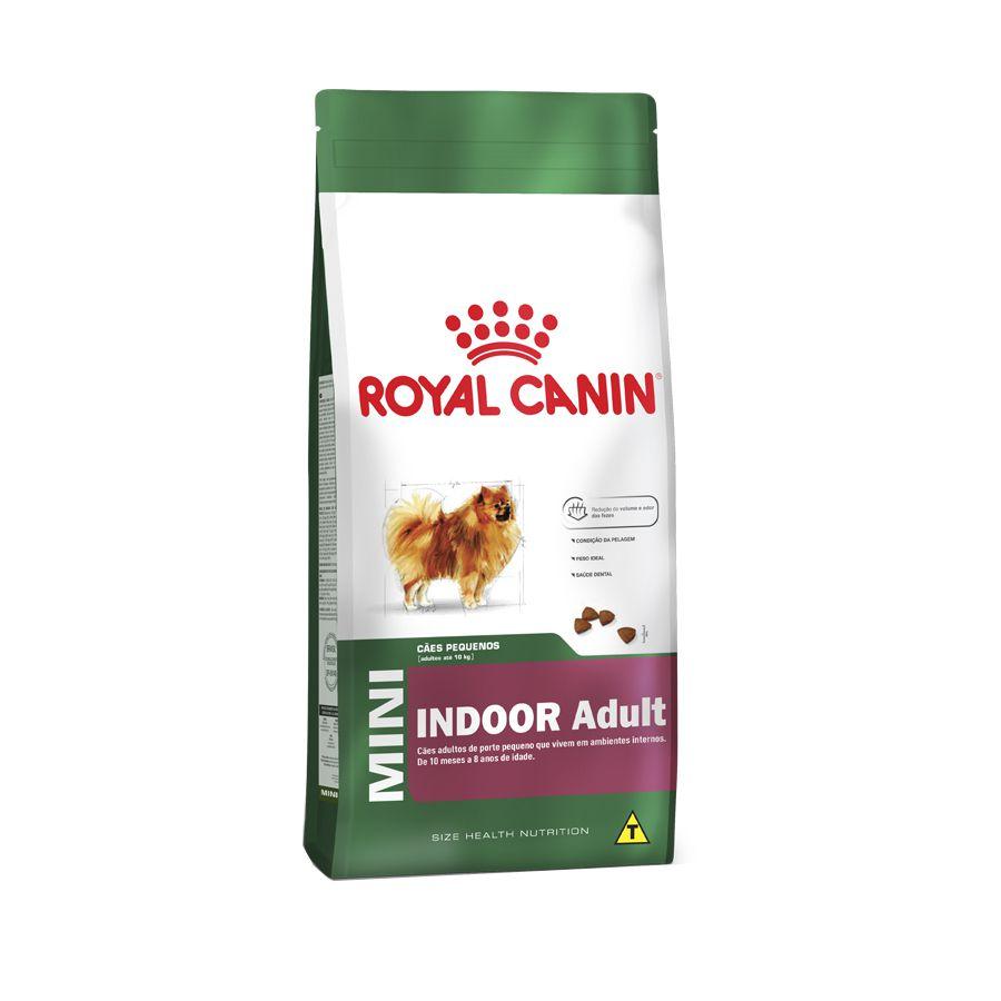 Ração Royal Canin Mini Indoor Adult Raças Pequenas 7,5kg