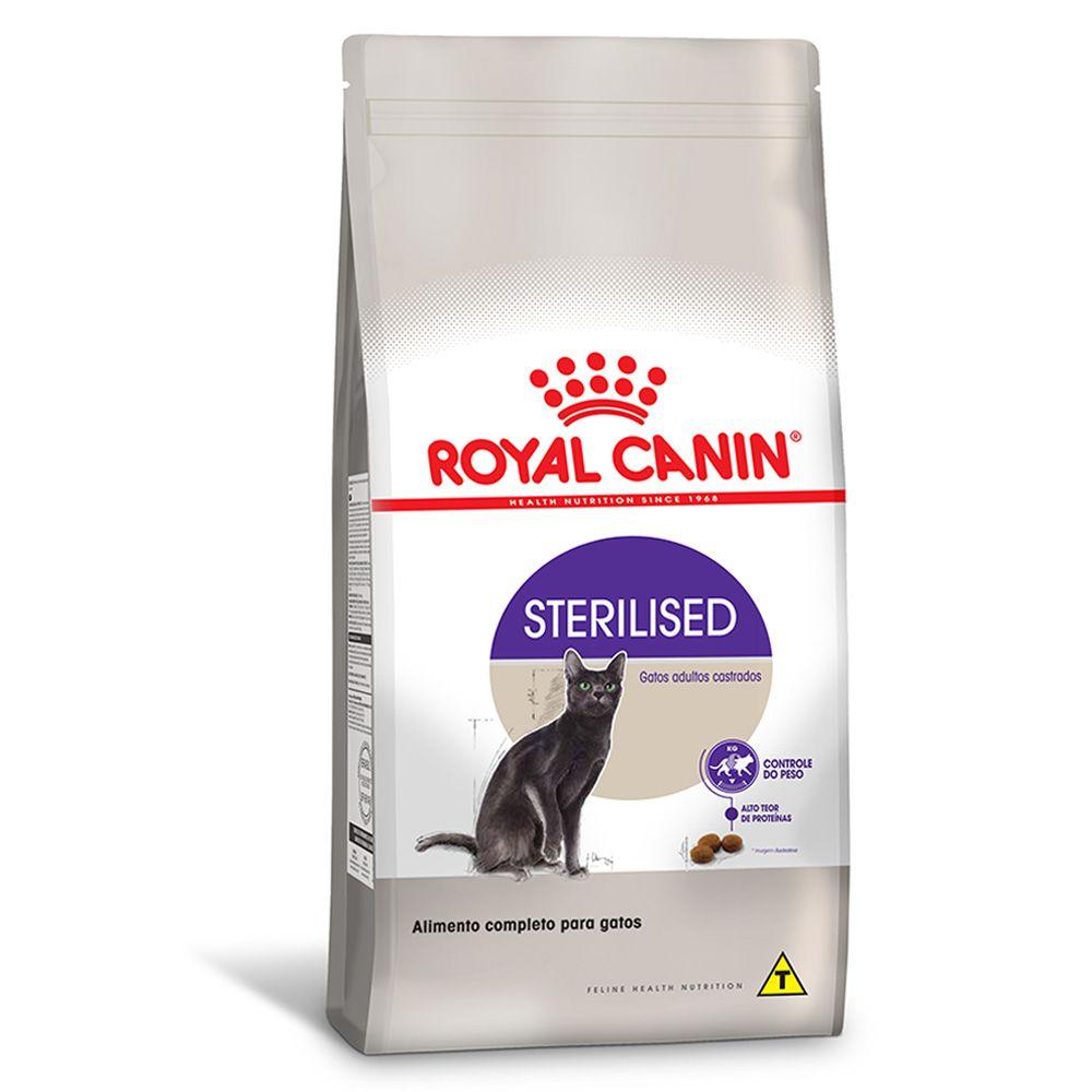 Ração Royal Canin para Gatos Adultos Castrados Sterilised 400g