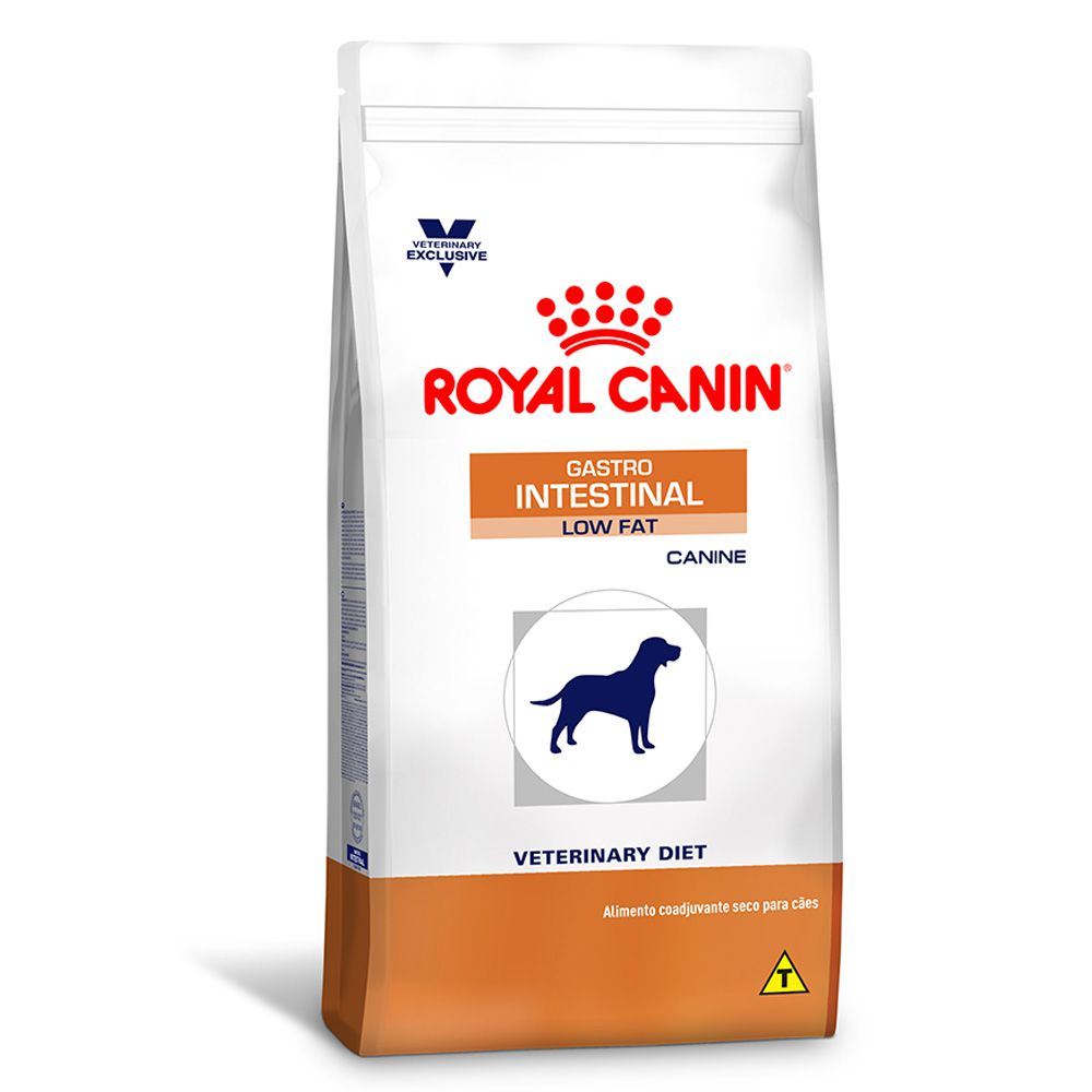 Ração Royal Canin Veterinary Diet Gastro Intestinal Low Fat 1,5kg