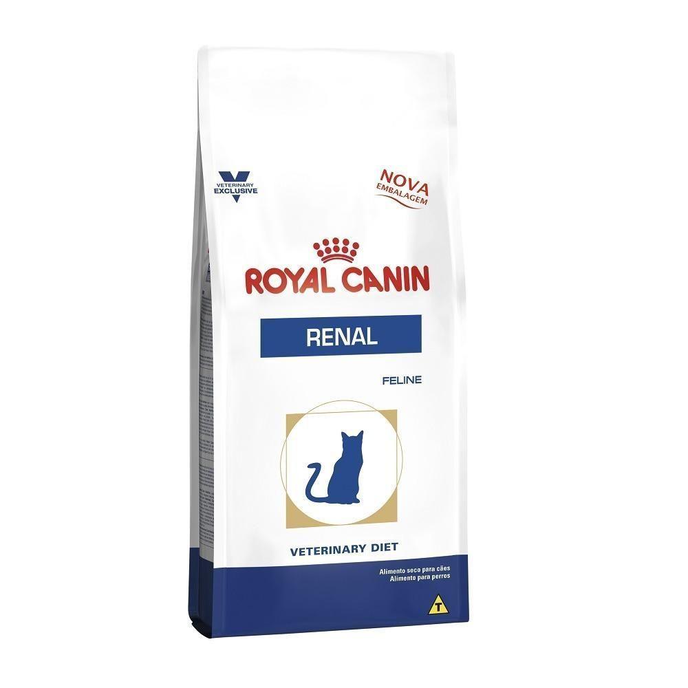 Ração Royal Canin Veterinary Renal Special para Gatos Adultos 500g