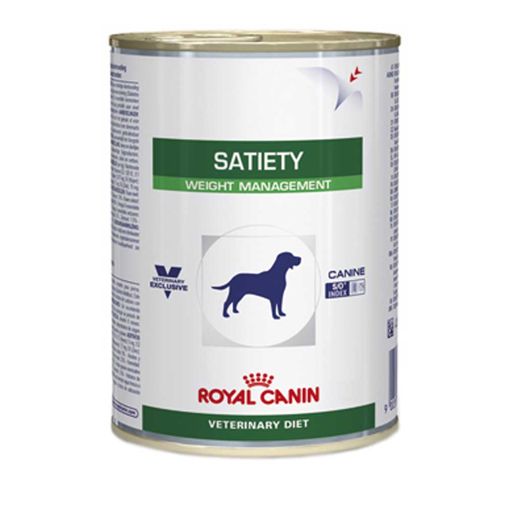 Ração Royal Canin Veterinary Satiety Support Lata 420g