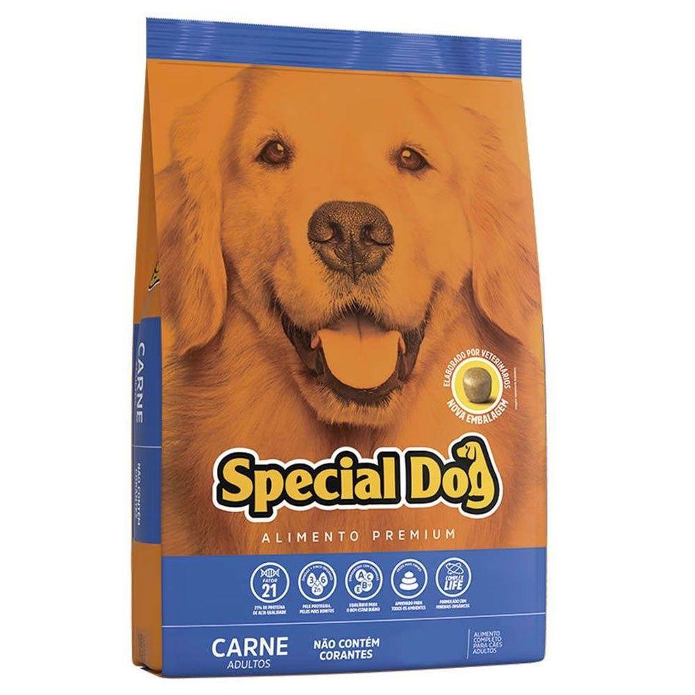 Ração Special Dog Premium Para Cães Adultos Sabor Carne 1kg