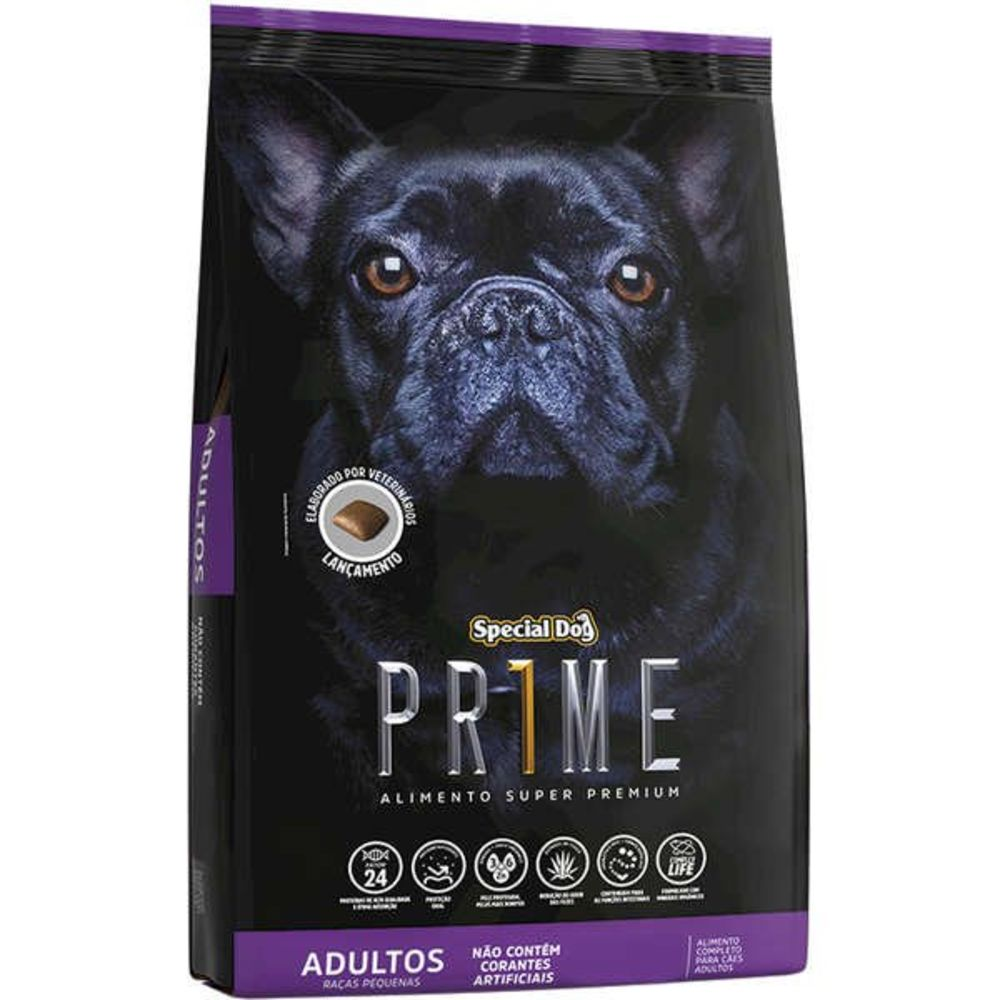 Ração Special Dog Prime Adulto Para Raças Pequenas 10,1kg