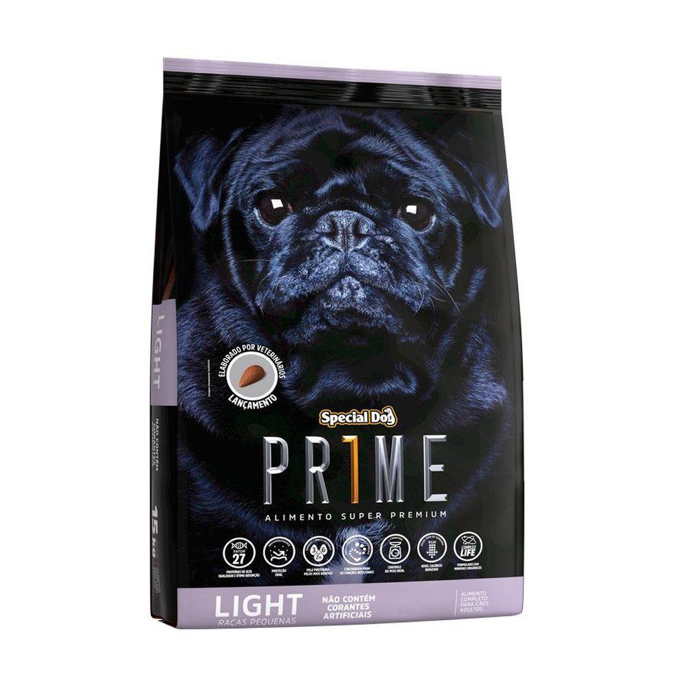 Ração Special Dog Prime Light Para Cães Adultos De Raças Pequenas 1kg
