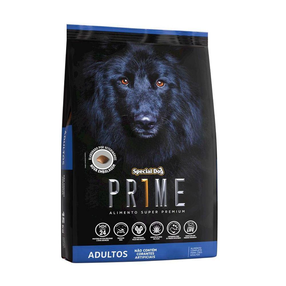 Ração Special Dog Prime Super Premium Cães Adultos 1kg