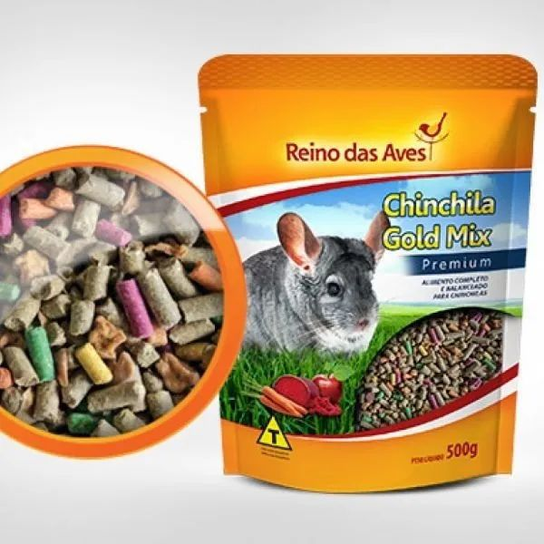 Reino das Aves Chinchila Gold Mix 500g