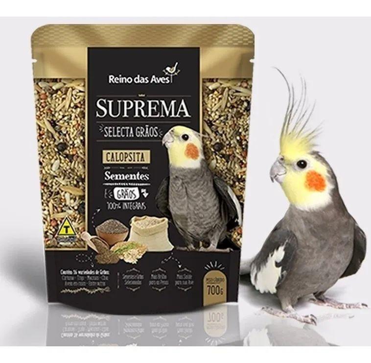 Reino das Aves Suprema Selecta Grãos Calopsita 700g