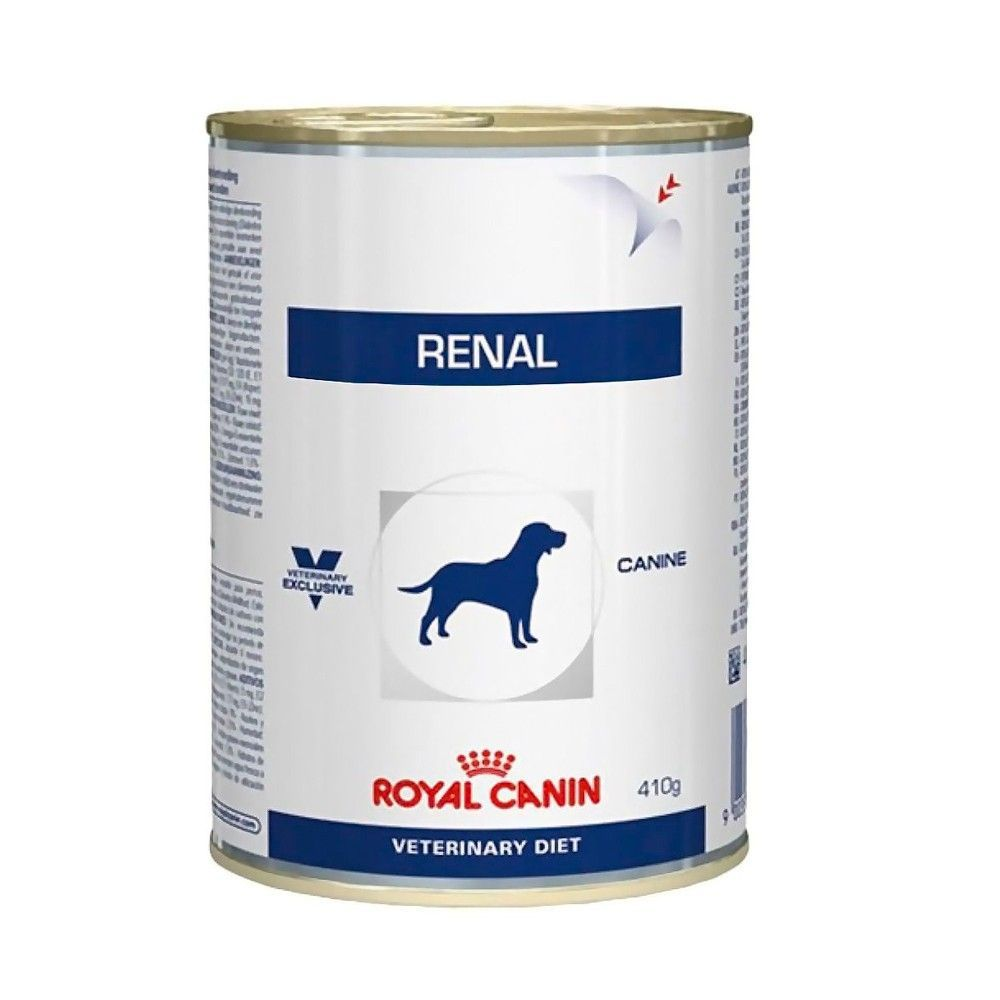 Royal Canin Canine Lata Veterinary Diet Renal para Cães Adultos 410g
