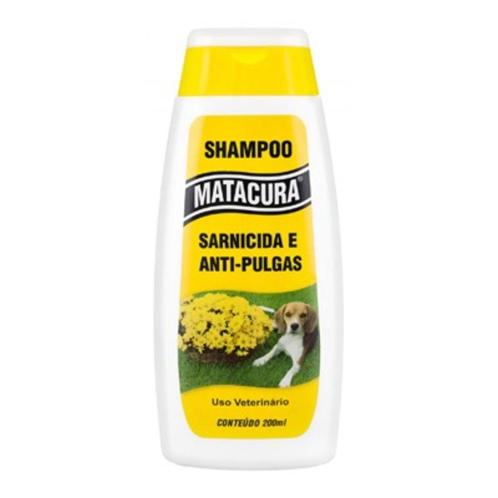 Shampoo Antipulgas Sarnicida Matacura 200ml